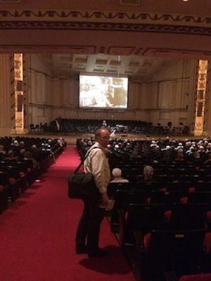 Pre-concert lecture, St. Louis
