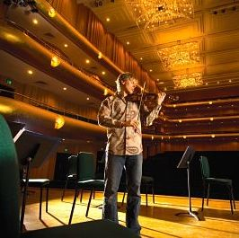 David Porter in Abravanel Hall