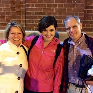 Lisa, Elizabeth Rowe & John Ferrillo