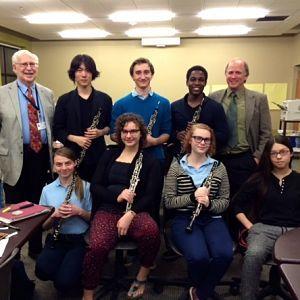 Interlochen Oboe students