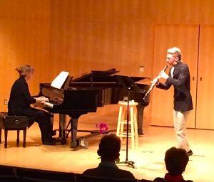Lucas Florin in recital