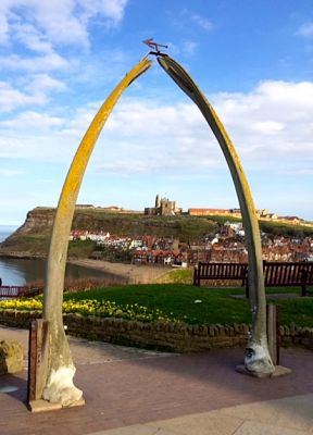 Old shipping village of Whitby