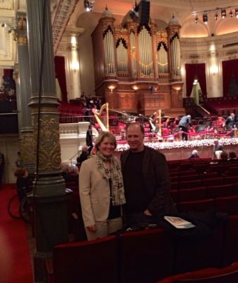 The hall of the Royal Concertgebouw Orchestra
