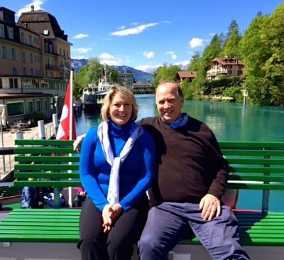 Boat ride at Interlaken - Lake Brienz