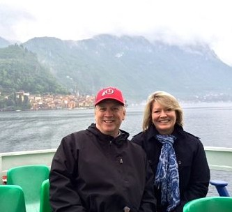 Boat ride on Lake Como
