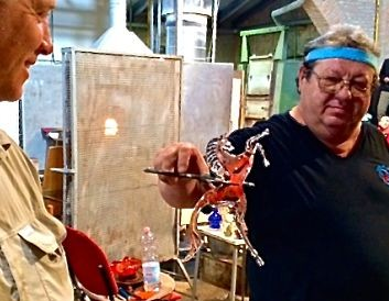 Glass-blowing at Murano Glass