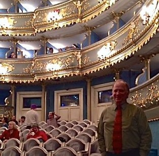 "Estates Theatre where Mozart premiered his ""Don Giovanni"""