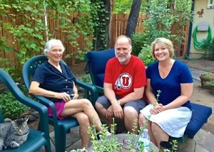 Mary Stephenson, Bob and Lisa in Prescott, AZ
