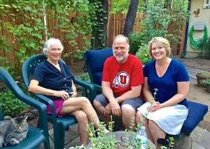 Mary Stephenson, Bob and Lisa in Prescott, AZ